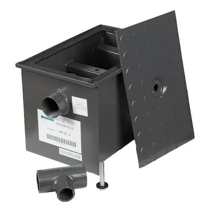 Grease Interceptor Trap 8 lbs. / 4 GPM