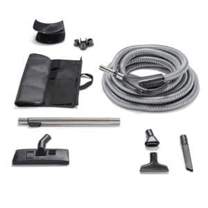 30 Ft. Hose and Tool Garage Kit Fits All Central Vacuum Units