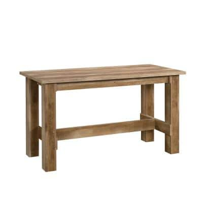Boone Mountain Craftsman Oak Engineered Wood Dining Table