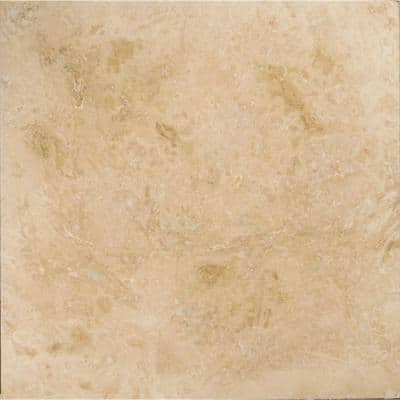 Trav Crosscut Pendio Beige Filled and Honed 24 in. x 24 in. Travertine Floor and Wall Tile (4.0 sq. ft.)