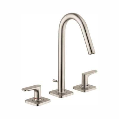 Citterio M 4 in. Minispread 2-Handle High-Arc Bathroom Faucet in Brushed Nickel