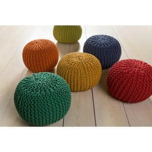 Alexia Bright Yellow Accent Pouf