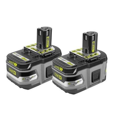 ONE+ 18V LITHIUM+ HP 6.0 Ah High Capacity Battery (2-Pack)