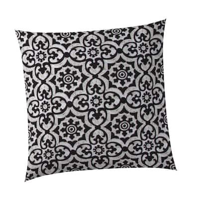 Barcelona Square Outdoor Throw Pillow