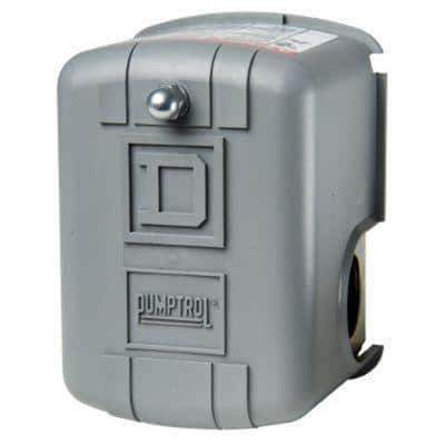 20-40 psi Pumptrol Well Pump Water Pressure Switch - Clear Packaging