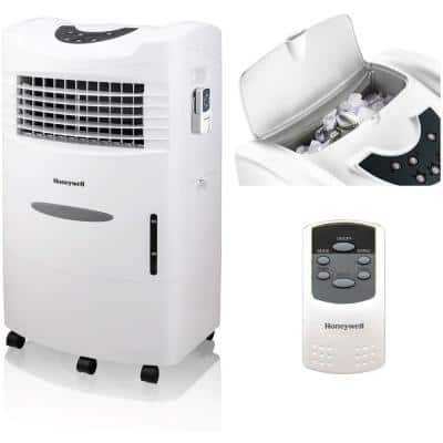 760 CFM 3 Speed Portable Evaporative Cooler with Remote Control for 280 sq. ft.