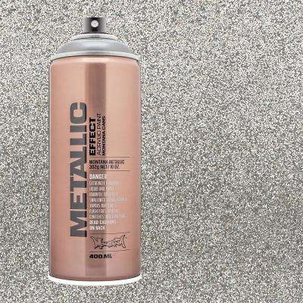 10 oz. METALLIC EFFECT Spray Paint, Silver