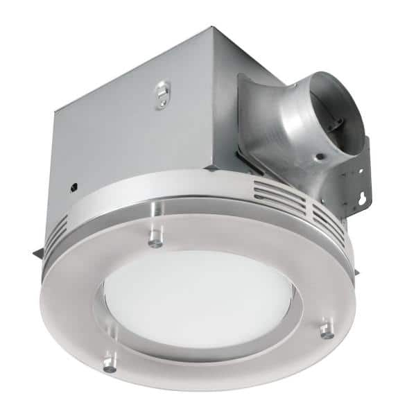 Tosca Decorative Brushed Nickel 80 Cfm, Decorative Bathroom Exhaust Fans With Light