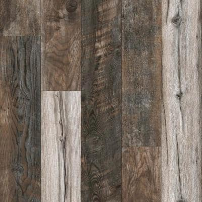 12 mm T x 6-1/16 in. W x 50-2/3 in. L Enchanted Hills Water Resistant Laminate Flooring (17.07 sq. ft./case)