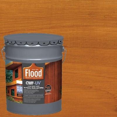 5 gal. Cedar Tone Transparent CWF-UV Exterior Wood Stain