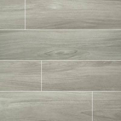 Brooksdale Birch 9.84 in. x 39.37 in. Matte Porcelain Floor and Wall Tile (13.89 sq. ft. / case)