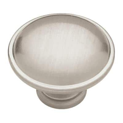 Sophia 1-1/4 in. (32mm) Satin Nickel Round Cabinet Knob