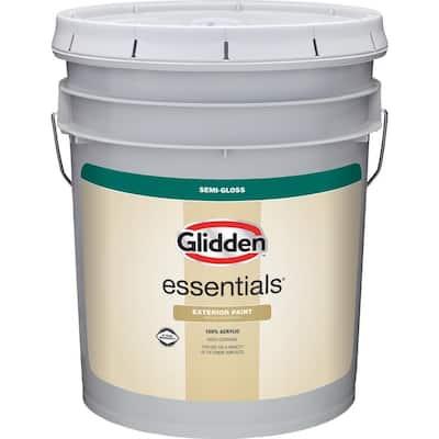 5 gal. Base 3 Semi-Gloss Exterior Paint
