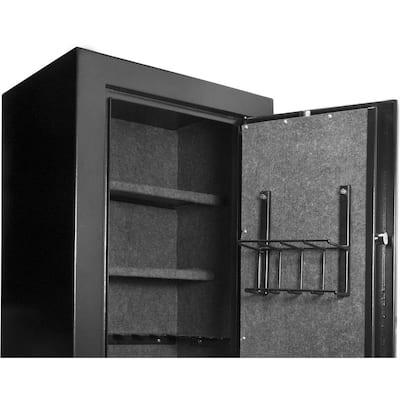 9.3 cu. ft. 16-Gun Extra Large Biometric Safe, Black Matte