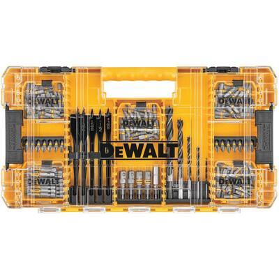 MAXFIT Steel Drill and Driving Bit Set (160-Piece)