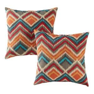 Surreal Square Outdoor Throw Pillow (2-Pack)