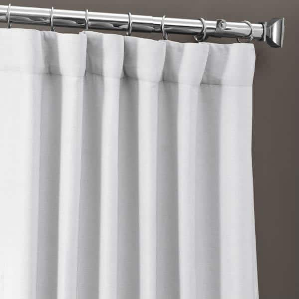 Exclusive Fabrics Furnishings Chalk, Curtains 108 Inch Length