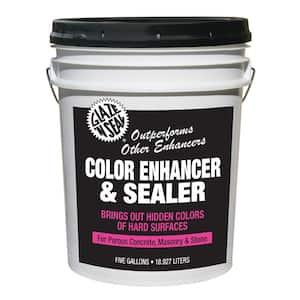 5 gal. Stone Color Enhancer Waterproofing Sealer