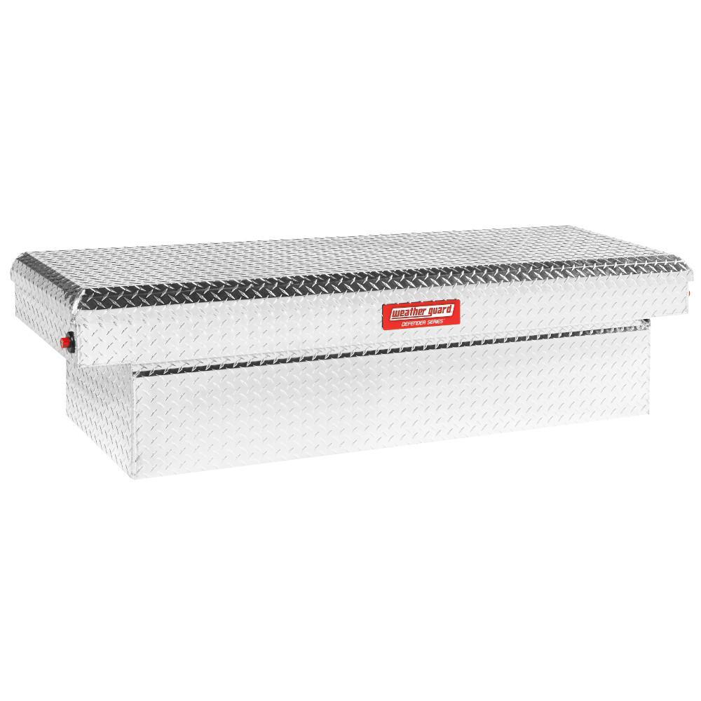 71.38 in. Diamond Plate Aluminum Full Size Crossbed Truck Tool Box