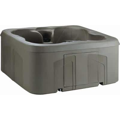 LS100DX 4-Person 20-Jet 110-Volt Plug and Play Spa with Waterfall
