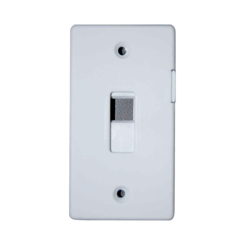 Adamax Switch Lock Plate White Slgwh