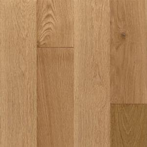 American Vintage Scraped Natural White Oak 3/4 in. T x 5 in. W x Varying L Solid Hardwood Flooring (23.5 sq. ft. / case)
