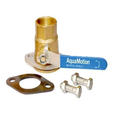1-1/4 in. Shut-Off Isolation Flange Kit Sweat in Bronze