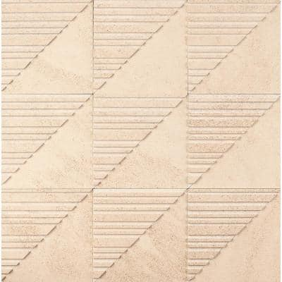 Michael Habachy Sliced Honey 8 in. x 8 in. Limestone Wall Tile (2.15 sq. ft./Case)