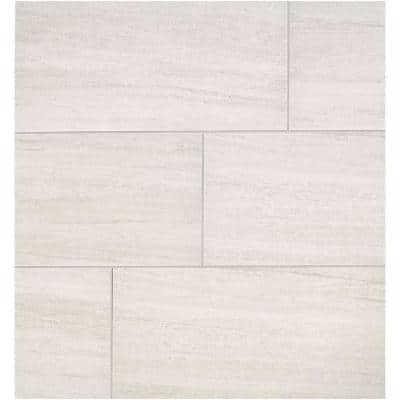 Modern Renewal Parchment 12 in. x 24 in. Glazed Porcelain Floor and Wall Tile (15.6 sq. ft. / case)