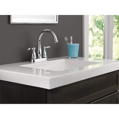 Porter 4 in. Centerset 2-Handle Bathroom Faucet in Chrome