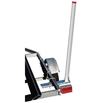Heavy-Duty 48 in. Boat Guide-On with Mounting Hardware Pair