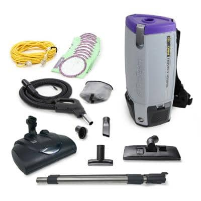 Super CoachPro 10 Qt. Commercial Backpack Vacuum with Wessel Werk Head