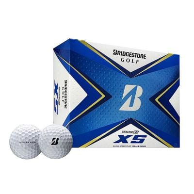 2020 Tour B XS Reactive Urethane Distance White Golf Balls, 1 Dozen