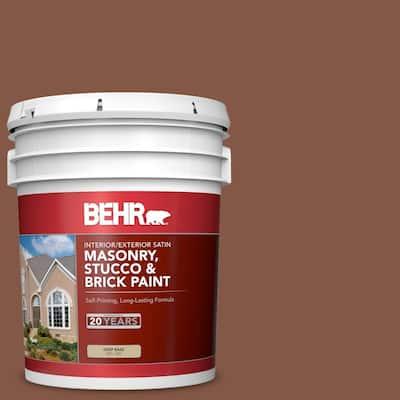 5 gal. #PFC-20 Coronado Satin Interior/Exterior Masonry, Stucco and Brick Paint