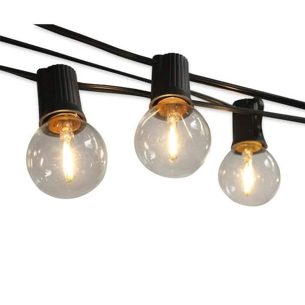 100 Light Bulbs Included, Warm White Led Outdoor Light Bulbs