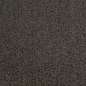 Elliptical Mat 3/16 in. x 48 in. x 84 in. Black Heavy-Duty Rubber Mat