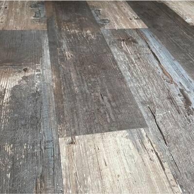 COLORS Floor and Wall DIY Rumba Wood Aged 6 in. x 36 in. Multi-Tonal Luxury Vinyl Plank (30 sq. ft. / case)