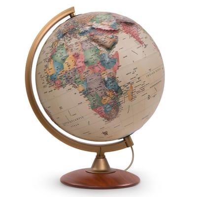 Colombo 12 in. Raised Relief Desktop Globe