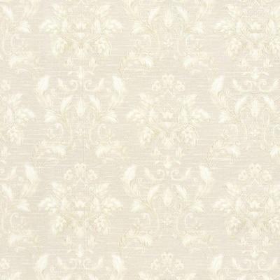 Estate Cream Damask Vinyl Peelable Roll Wallpaper (Covers 56 sq. ft.)