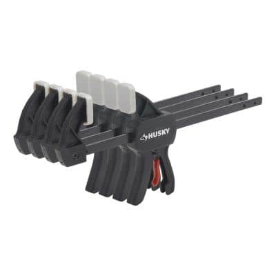 4.5 in. Micro Trigger Clamp Set (4-Piece)