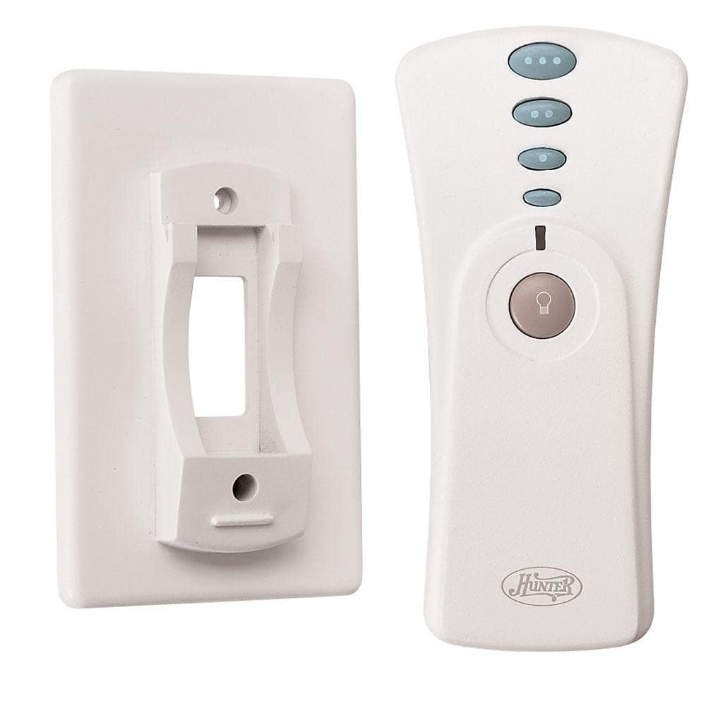 Hunter White Indoor Universal Hand Held Remote Control 99119 The Home Depot