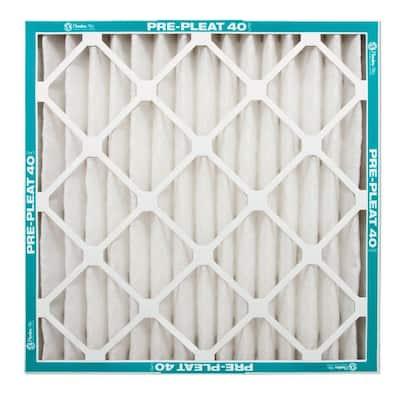 24 x 24 x 2 Pre-Pleat 40 Pleated MERV 8  Air Filter (12-Pack)