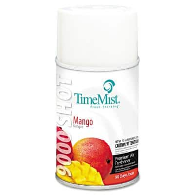 7.5 oz. Aerosol 9000 Shot Metered Automatic Air Freshener Refill, Mango (4/Carton)