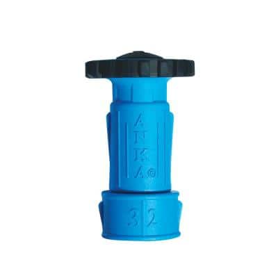 ANKA 1 1/4 in. Small Wash Down Nozzle with 1 1/4 in. Hose Tail