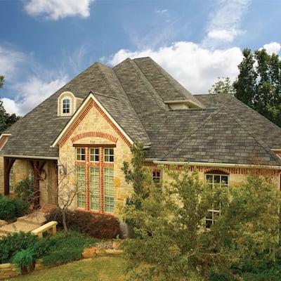 Woodland Cedarwood Abbey Designer Laminated Architectural Shingles (25 sq. ft. per Bundle) (14-pieces)
