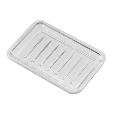 Rectangle Soap Saver in Clear