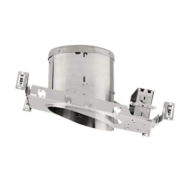 Nicor Nicor 6 In Recessed Ic Rated Airtight Sloped Housing For New Construction Applications With Sloped Ceilings 17022a The Home Depot