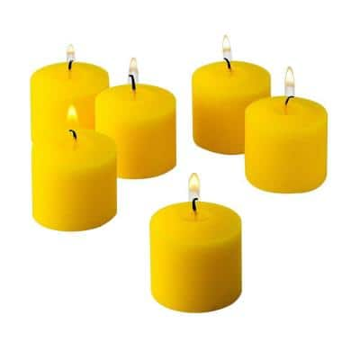 Citronella Yellow Scented Votive Candles (Set of 288)