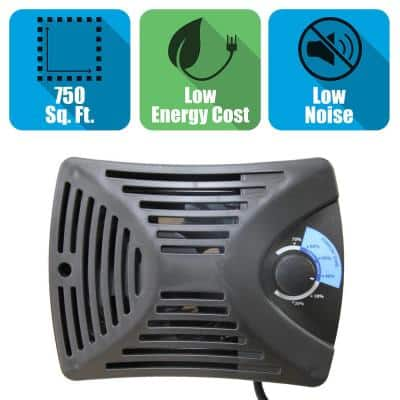 Garage Energy Efficient Digital Ventilation System/Dehumidifier for 750 sq. ft.