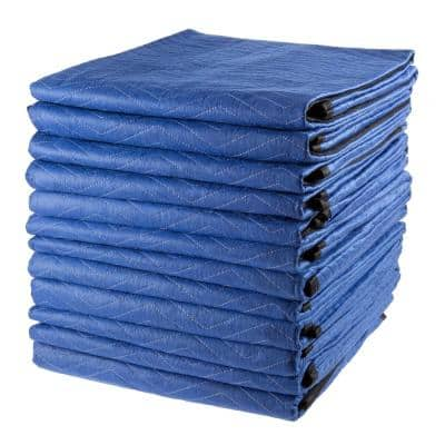 Oversized Dual Layer Padded Moving Blanket Set (12-Pack)